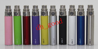 Wholesale Ego t Battery Electronic Cigarette Batteries E cigarette E cig Battery mAh mAh mAh Suit For ViVi Nova CE Atomizers Colors refly