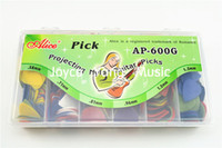 Plastic alice guitar picks - of Alice Projecting Nylon Acoustic Electric Guitar Picks With Original Package Standard Plectrums