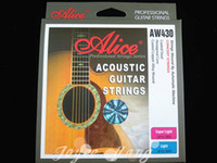 AW430-SL alice acoustic guitar strings - Alice AW430 Super Light Acoustic Guitar Strings Plated Steel st th Strings Wholesales