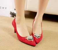 Women Pumps Stiletto Heel New Arrival Cheap Fashion New women's shoes sexy stilettos pointed diamond club high heels
