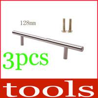Ceramic Furniture Handle & Knob  128MM Aluminum Kitchen Cabinet Hardware Pull Handle