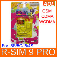 Wholesale AUTO Unlock ALL iPhone5C C G S R SIM pro I OS IOS7 R Sim Docomo AU Sprint Verizon T MOBILE