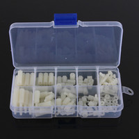 Wholesale Nylon Hex Spacer Screw Nut Assortment Kit Standoff Plastic Accessories Set