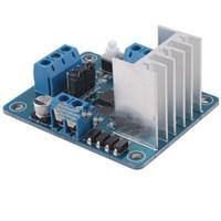 Drive IC -25  ~ +130  20W 2pcs lotL298N Dual Stepper Servo Motor Driver Controller Board Module 5V For Robot Smart Car