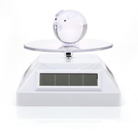 Ring auto display stand - Solar Display Stand Turntable degree auto rotating rotary exhibition Stand For Jewelry Phone Watches Black white silver golden