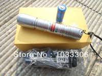 Cheap Laser 619 Silver 20000mW 532nm Green Laser Pointer Pen Charger burn matches~ 1pcs lot free shipping by china post air
