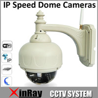 Wholesale New ip Speed Dome Wifi Wireless PTZ IR Cut Waterproof Outdoor ip Speed Dome Camera for CCTV Camera mm Lens AP006