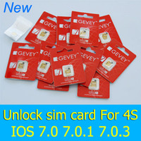 activate sim card iphone - Original F981 Chip Gevey S unlock sim card for iPhone S iOS7 iOS iOS iOS IOS unlocked GSM CDMA Activates card