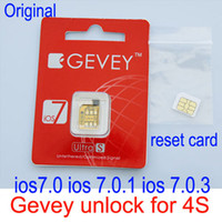 Unlocking Card activate sim card iphone - F981 Chip Original Gevey S unlock sim card unlocking for iPhone S iOS7 iOS iOS iOS unlocked GSM CDMA Activates card