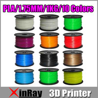 Wholesale 1 mm PLA Filament kg lb D Printers Reprap MakerBot Replicator Afinia Solidoodle Printrbot LC MakerGear M2 and UP