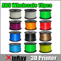 Wholesale kg mm mm ABS Filament with spool For D Printer Colors d Print Freesipping via Express