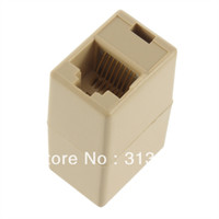 Wholesale New RJ45 CAT E Ethernet Lan Cable Joiner Coupler Connector