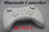 Wholesale Wireless Bluetooth Game Joypad Wireless Game Controller Play Joysticks For Wii U WiiU a006