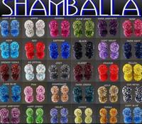 Precio de Mixed crystal beads-Mejor! envío gratis 10 mm Mixto Micro Allanar CZ de la Bola de Discoteca de Cristal de Shamballa Pulsera de bolitas del Collar de Perlas.caliente Mayoristas! Stock!Lote Mixto!