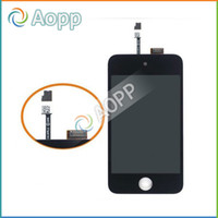 Wholesale 20PCS For IPOD TOUCH th Generation DIGITIZER TOUCH LCD DISPLAY SCREEN Full Assembly amp Free DHL FEDEX shipping