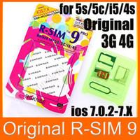 Wholesale R SIM Pro Unlock Card R SIM9 RSIM9 Pro for iphone G S C S G GSM WCDMA iOS x
