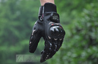 Wholesale Colors Motorcycle Bike full finger Protective gear Racing Gloves SIZE M L XL XXL