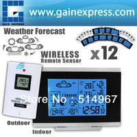 Kitchen Temperature Sensor R01AOK-5018B x 12 (lot 12) 12 pieces x Wireless Indoor Outdoor Weather Station Temperature Humidity Remote Sensor Date Radio Controlled Clock RCC DST F C