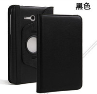 Wholesale 360 Degree Rotating Stand PU Leather Cover Cases For Samsung Galaxy Tab Lite Inch T110 T111 degree case