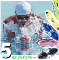 Wholesale Hot sales Swim Eyewear Card installed swimming goggles no fog send turbinate earplugs