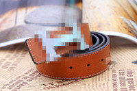 Wholesale 2013 explosion of new original word H Buckle Belt hot leather leather belt men s neck profile p69