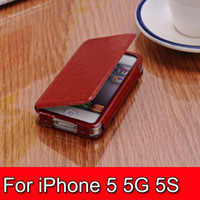 1pc Luxury PU Leather Case for iPhone 5G 5C 5S Luxury Mobile...