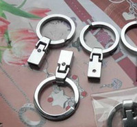 Wholesale 8MM MM ZINC Alloy Keychain Clasps amp Hooks Rhinestone Decorative Jewelry Connector DIY Accessories