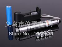 Cheap 2014 new 20000mw 2Watt Waterproof focusable burn green laser pointer with box +battery