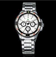 Sport Men's Round New WEIDE Men's Trendy Analog Sport Quartz Wrist Watch WH1013, JAPAN movement, 30 meters resistant, mens sports quartz watch