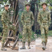 Wholesale ATACS FG Multicam Camouflage Suit Combat BDU Uniform Hunting Suit Wargame Paintball Uniform