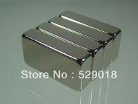 Wholesale 4pcs N52 block mm mm mm rare earth Neodymium Permanent Strong Magnets Craft