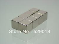 Wholesale 8pcs N52 mm mm mm block rare earth Neodymium Permanent Strong Magnets