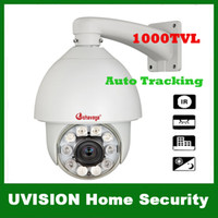 Wholesale Security Surveillance TVL SONY EFFIO CCD x Outdoor CCTV intelligent PTZ IR Camera high speed Auto Tracking Heater Fan M IR Distance