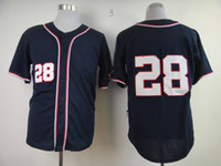Baseball baseball uniforms designs - Cheap Baseball Jerseys Nationals Werth Uniforms Men s Baseball Wears Dark Blue Short Sleeve Sports Jerseys New Design Player Jerseys