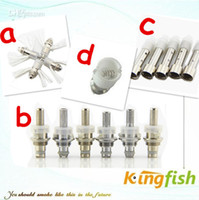 Wholesale Kingfish Electronic Cigarette Atomizer coil e cigarette atomizer ce4 ce6 ce5 ce7 globle wax tank protank mini protank protank2 core head