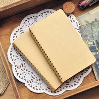 Wholesale Freeshipping New kraft cover Diary blank Notebook Notepads Fashion Gifts