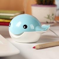 Wholesale Lovely Cartoon Whale Design MINI USB Humidifier Mist Moist Air Fresher Purifier Premiums Gift SH309