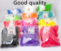 Link, Chain Link, Chain  Children's Best Selling Rainbow Loom Kit DIY Wrist Bands rubber band Rainbow Loom Bracelet for kids (600 pcs bands + 24 pcs C-clips ) 13 Colors