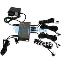 Wholesale Infrared Remote Extender Emitter Receiver Adaptor Hidden IR Repeater System Kit TK0150