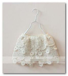 Wholesale Fashion new kids LACE shorts girl Children s layered floral shorts summer children princess clothing