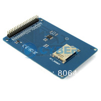 Wholesale New quot TFT LCD Module Display Touch Screen Panel PCB Adapter Blue TK0466