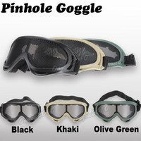 Wholesale Hunting Net Tactical Shock Resistance Eyes Protection Outdoor Safety Sports Metal Mesh Pinhole Glasses Goggle for Game