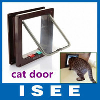 Wholesale WAY Flap Door Lock Safe Lockable Cat Kitten Small Dog doors