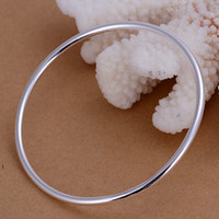 Wholesale Sterling silver g fashion bangles jewerly fashion New fashion bracelets bangle