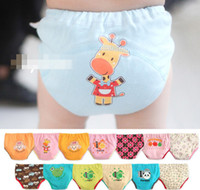 Wholesale Adorable Baby Boys Cartoon Briefs Traning Pants Children Clothing Infant Babies Underwear Toddle Underpant Kids Clothes Under Pant D2209