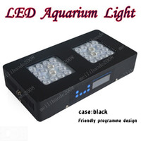 NOVO 90W it2080 programáveis Aquarium LED Luz para Marine Fish Tank Coral Reef com controle remoto e Cree LED dispositivos MYY8891