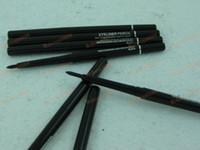 Wholesale 60pcs New Makeup Black Color automatic waterproof eyeliner pencil