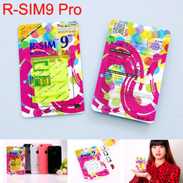 R-SIM 9 RSIM9 Unlock Sim card for iphone 4S 5 5S 5C R-SIM9 Pro SIM Card Unlock Official IOS 7.0.2 7.1 ios7 GSM CDMA WCDMA 3G 4G RSIM 9 GPP