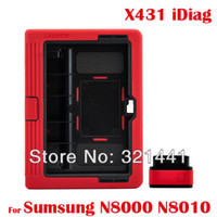Wholesale car dvr Auto Diagnostic Scanner Tool Launch X431 Idiag Car Scan OBD2 Equipment For Sumsung N8000 N8010 All Android Original DHL EMS Free