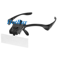 Wholesale Interchangeable Eyeglass LED x x x x x Headband Magnifier Loupe Lens